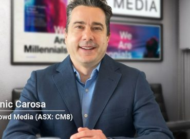 Watch: Q&A With Crowd Media CEO, Domenic Carosa