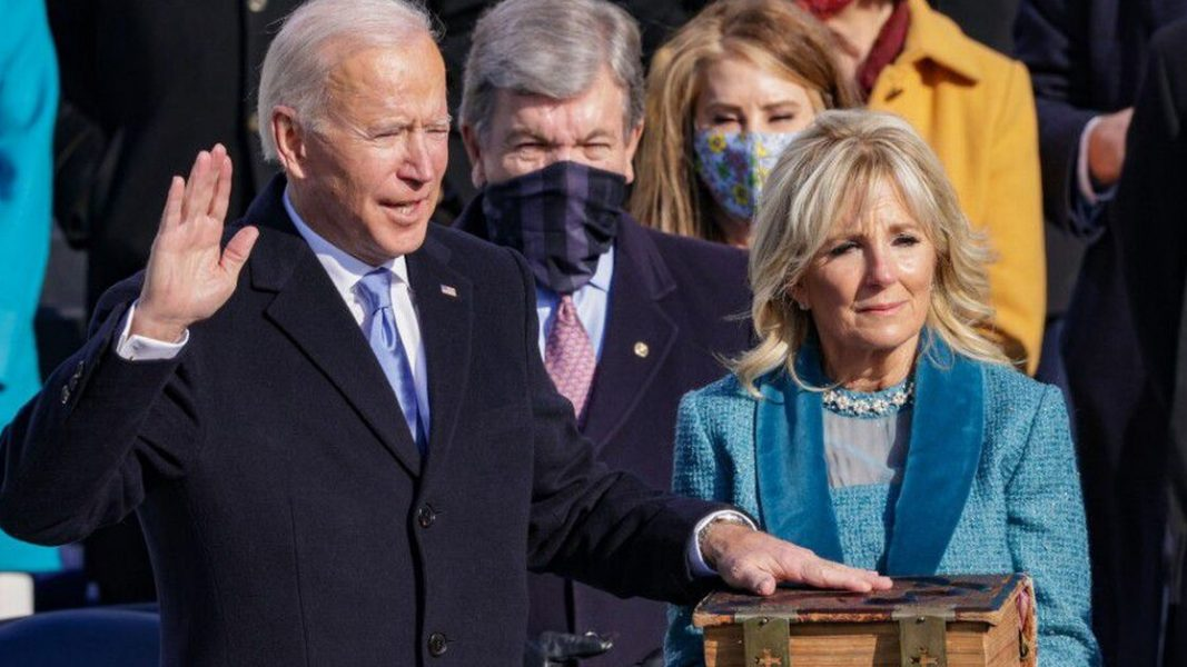 US Markets hit record highs as Joe Biden becomes president
