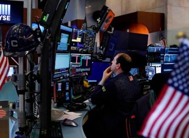 US markets push into blue sky territory
