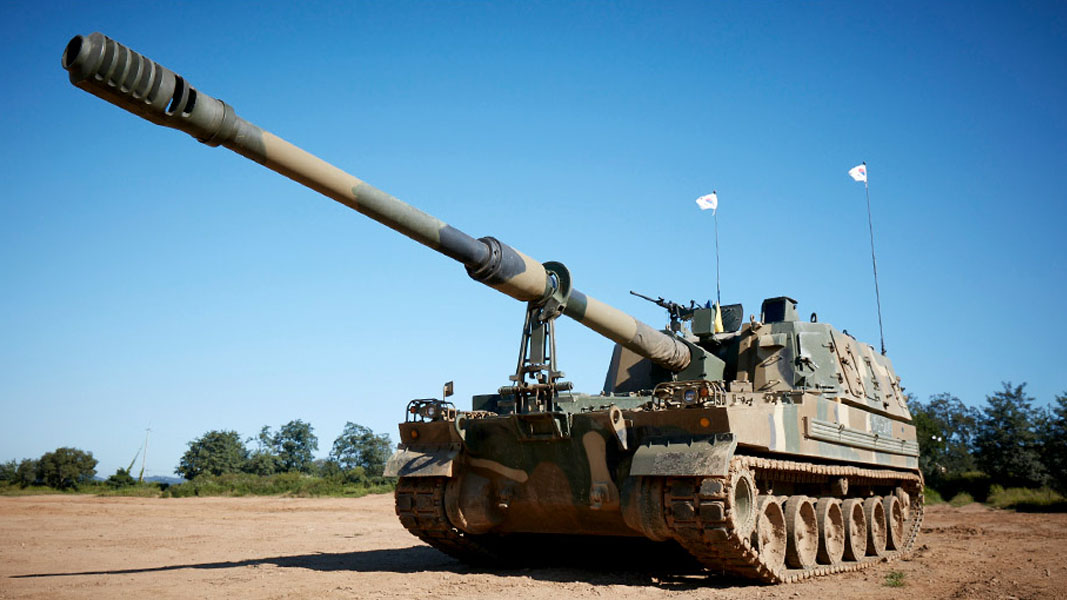 K-TIG links up with top Korean military manufacturer for artillery project