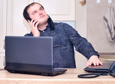 Melbourne office worker filthy about lockdowns and being forced to work from home